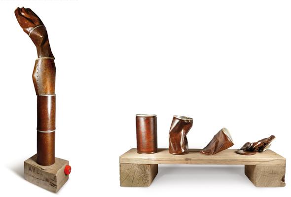 Fabrice Peltier - Création - Sculptures